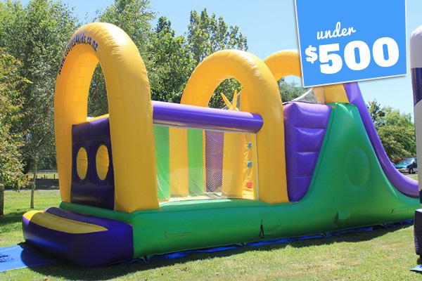 Monster Bounce 'n' Slide